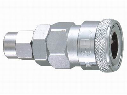Picture of THB 6.5x10 Steel Quick Coupler Body - PU Hose End