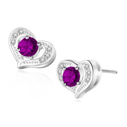 Picture of Birthstone Earrings- DS-014