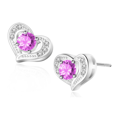 Picture of Birthstone Earrings- DS-018