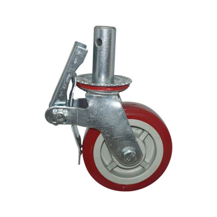 """Picture of Caster Wheel PVC 6"""", CWPVC6"""""""