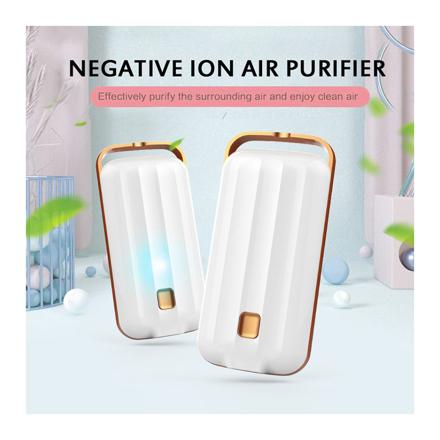 图片 Anion Air Purifier Necklace Portable, Air Purifier Small Neck, Air Purifier Prevent PM2.5 Formaldehyde Necklace, UE04AIRF2